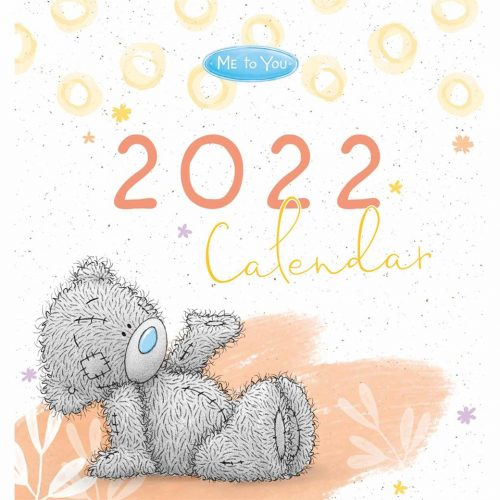Me to You Classic Easel Desk Calendar 2022-front