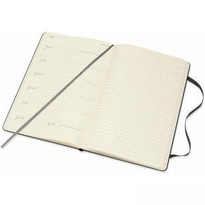 Moleskine 2022 Large Weekly Notebook Diary Hard Cover Black-inside