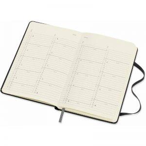 Moleskine 2022 Pocket Month Diary Planner Hard Cover Black-inside