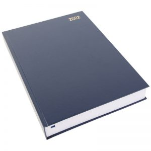 Morgan's Direct Two Page a Day Diary-blue