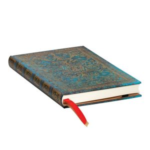 Paperblanks 2022 Diary Azure Mini Week to View Hard Cover-edge