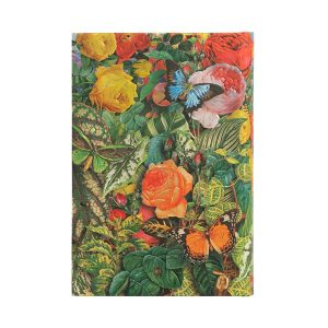 Paperblanks 2022 Diary Butterfly Garden Mini Day A Page Hard Cover-back