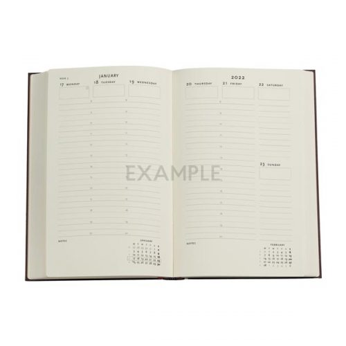 Paperblanks 2022 Diary Destiny Maxi Weekly Vertical Appointments Hard Cover-inside