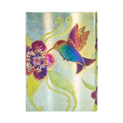 Paperblanks 2022 Diary Hummingbird Midi Day A Page Hard Cover-back
