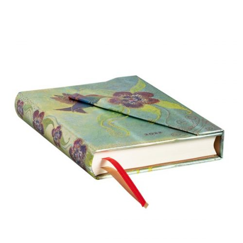 Paperblanks 2022 Diary Hummingbird Midi Day A Page Hard Cover-edge