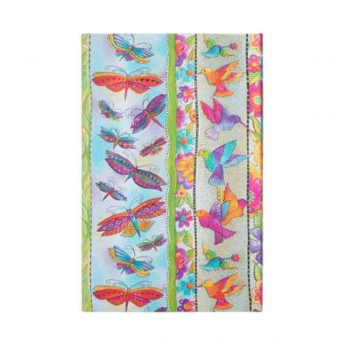 Paperblanks 2022 Diary Hummingbirds & Flutterbyes Maxi Weekly Hard Cover-back