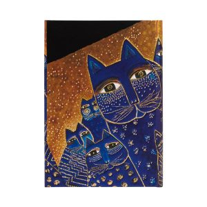 Paperblanks 2022 Diary Mediterranean Cats Mini Weekly Notes Hard Cover-back