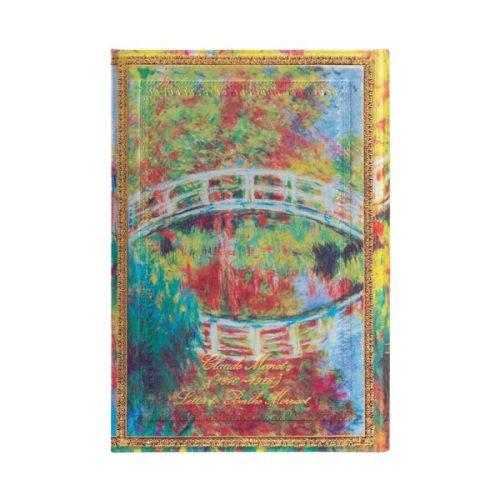 Paperblanks-2022-Diary-Monet-Bridge-Letter-to-Morisot-Mini-Weekly-Hard-Cover-back