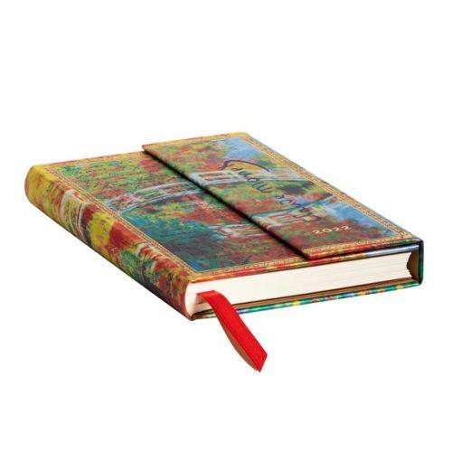 Paperblanks-2022-Diary-Monet-Bridge-Letter-to-Morisot-Mini-Weekly-Hard-Cover-edge