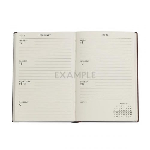 Paperblanks-2022-Diary-Monet-Bridge-Letter-to-Morisot-Mini-Weekly-Hard-Cover-inside