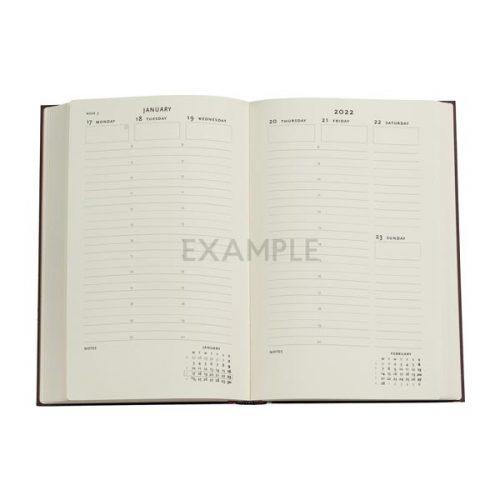 Paperblanks 2022 Diary Oceania Maxi Weekly Vertical-inside