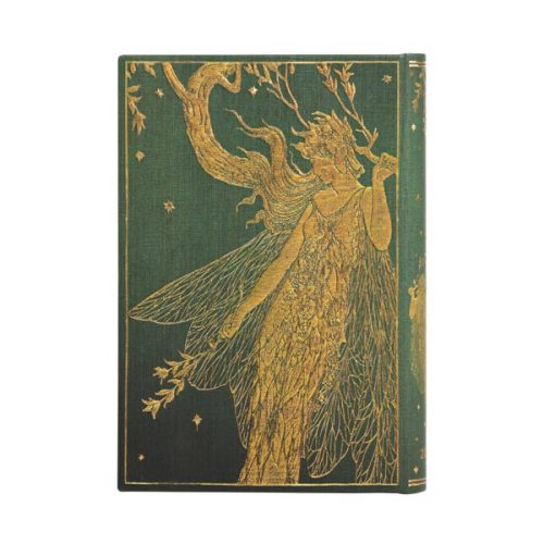 Paperblanks 2022 Diary Olive Fairy Mini Day A Page Hard Cover-back