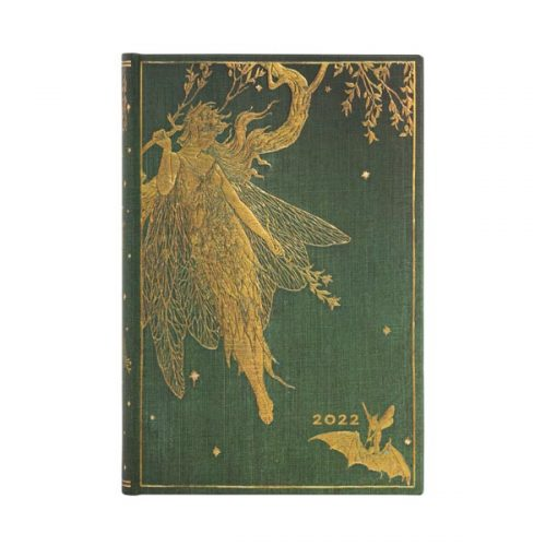 Paperblanks 2022 Diary Olive Fairy Mini Day A Page Hard Cover-front