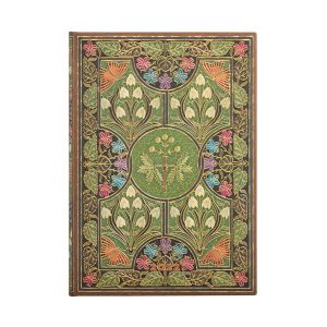 Paperblanks 2022 Diary Poetry In Bloom Midi Week to View Hard Cover-front