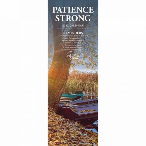 Patience Strong Slim Calendar 2022-front