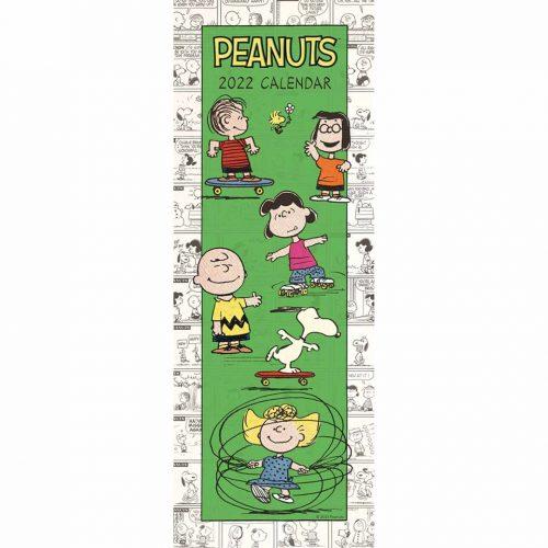 Peanuts Slim Calendar 2022-front