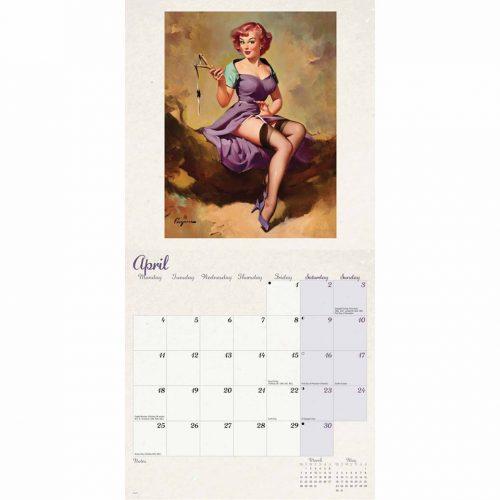 Pin-Up Girls Wall Calendar 2022-inside