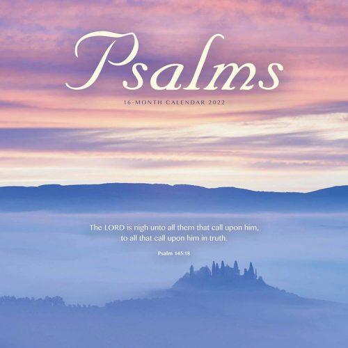 Psalms Calendar 2022-front