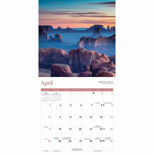 Psalms Calendar 2022-inside