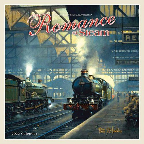 Romance of Steam Calendar 2022-front