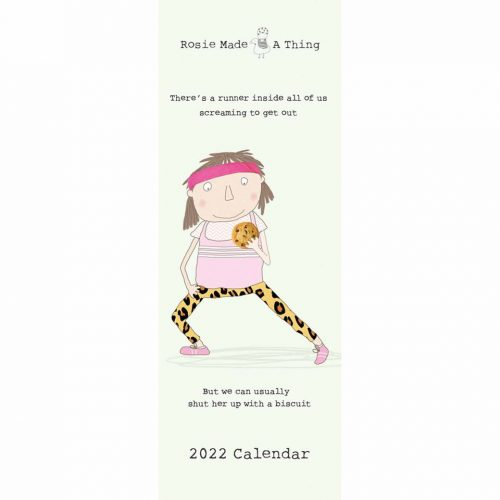 Rosie Made A Thing Slim Calendar 2022-front