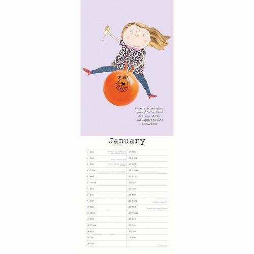Rosie Made A Thing Slim Calendar 2022-inside