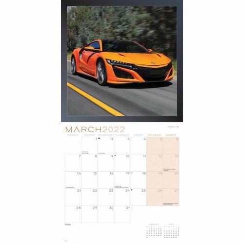 Supercars Calendar 2022-inside