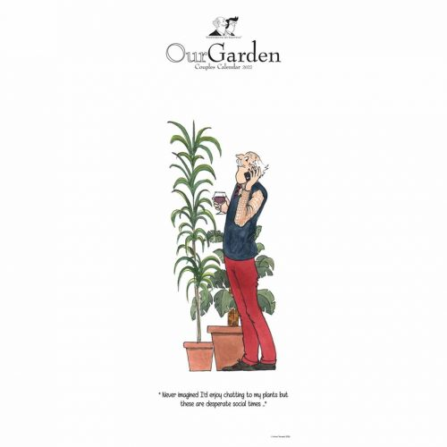 Tottering By Gently, Our Garden Couples Slim Planner 2022-front