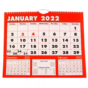 2022 Boldtype Calendar Planner-front