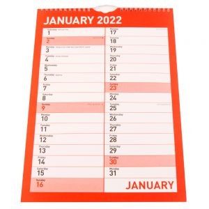2022 Monthly Engagement Calendar-front