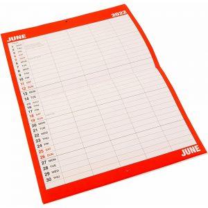 2022 Monthly Family Planner Organiser-inside