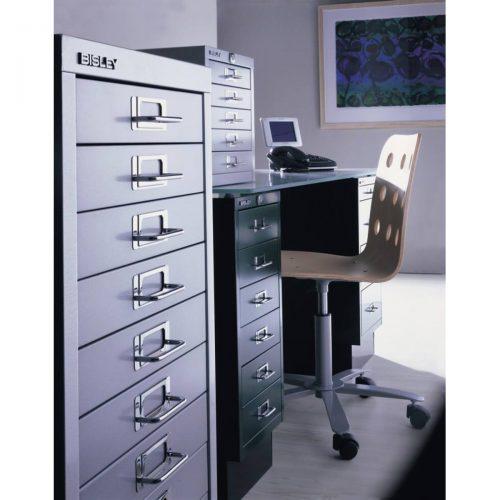 Bisley Filing Cabinet 10 Drawer Black-alt